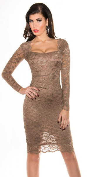 Sexy KouCla Spitzen-Pencil Kleid