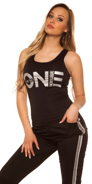 "Sexy Tanktop mit Print ""One and Only"""