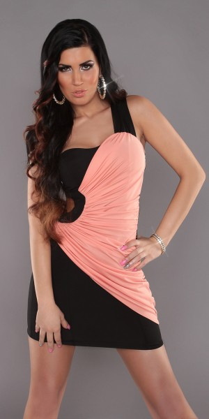 Sexy One-Arm-Minikleid mit Cut-Out