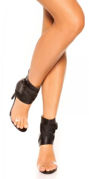 Sexy Ankle High Heel Stiletto Sandaletten