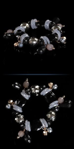 Trendy Perlenarmkette