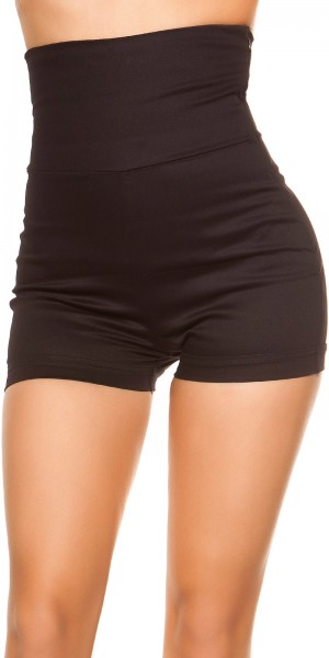Sexy KouCla High Waist Shorts 70 s Look